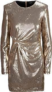 P.A.R.O.S.H. Luxury Fashion Womens D731101053 Gold Dress | Fall Winter 19