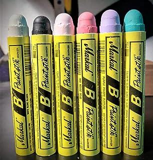 Markal B Paintstik Solid Paint Hobo Marker Set of 6 Color Pack 2