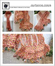 Centennial Chains - Crochet Pattern #116 - Scarf with Beaded Edging