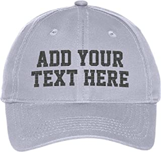 ab51ccb27cca6 Custom Embroidered Youth Hat - ADD Text - Personalized Monogrammed Cap