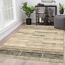 "Rugsville Odelia Ivory Graphic Modern Carpet 5'1"" x 7'7"""