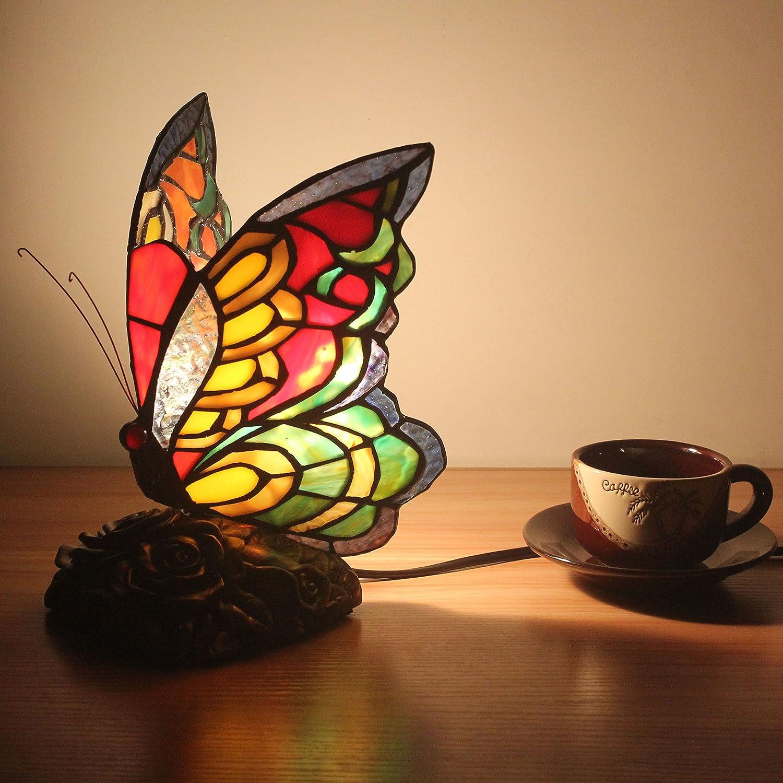 WCS Style Pastoral Kreative Schmetterling Tischlampe Kinderlampe Nachtlicht - 20 cm B07DH8JGKS   eine große Vielfalt