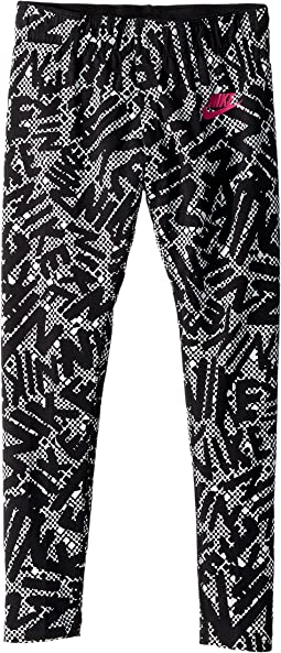 Nike Kids - Sportswear Print Tight (Little Kids/Big Kids)