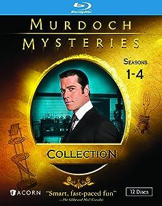 MURDOCH MYSTERIES COLLECTION: SEASONS 1-4 (BLU-RAY)