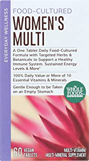 Whole Foods Market, Food-Cultured Women's Multi, 60 ct
