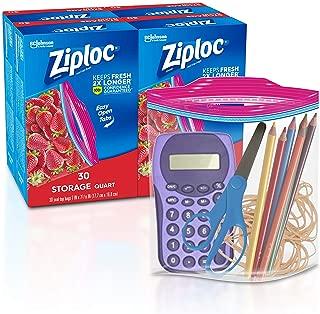 ziploc vacuum pump refill bags gallon size