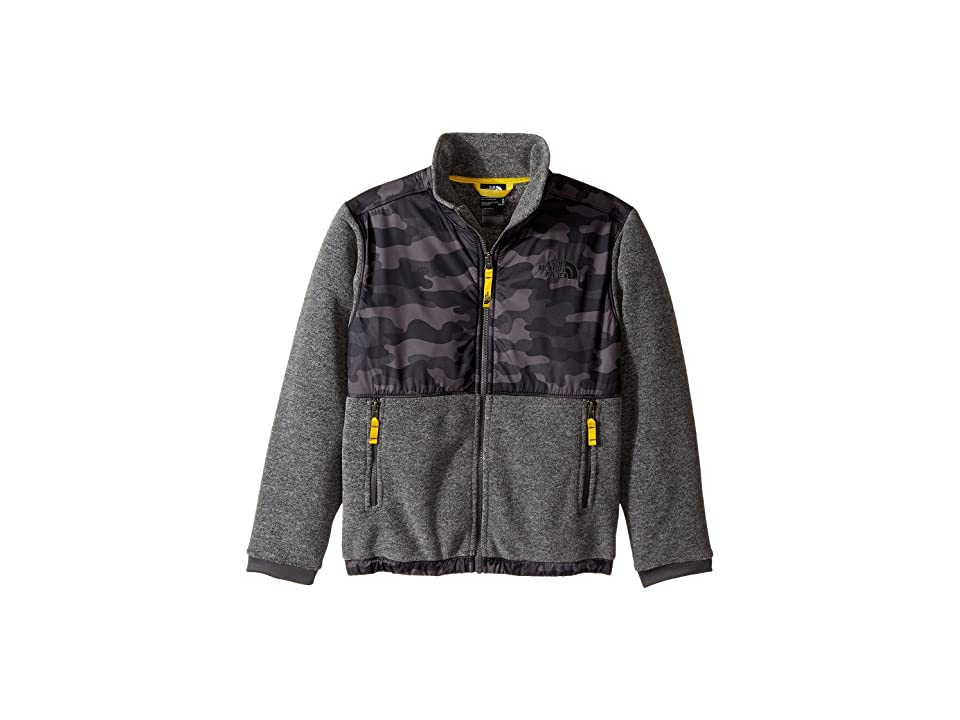 The North Face Kids Denali Jacket (Little Kids/Big Kids) (Graphite Grey Camo Heather Print (Prior Season)) Boy