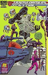Sdcc 2014 Transformers Vs Gi Joe #1 Cvr a Variant