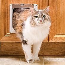 PetSafe Interior Cat Door – 2-Way Lock or 4-Way Lock Options – For Cats Up to 15 lb