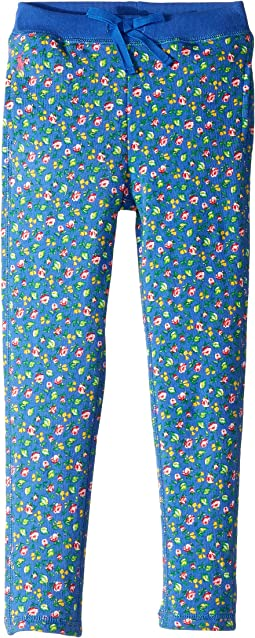 Atlantic Terry Floral Pants (Little Kids)