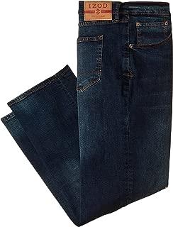 IZOD Men's Big & Tall Comfort Stretch Jeans – Relaxed Fit Denim