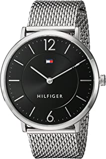 Tommy Hilfiger Ultra Slim Quartz Movement Black Dial Men's Watch 1710355
