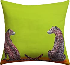 Deny Designs Clara Nilles Leopard Lovers Outdoor Throw Pillow, 16 x 16