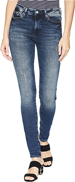 Alissa Super Skinny Denim in Ink Marine Tribeca