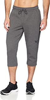 Peak Velocity Amazon Brand Men's Metro Fleece Athletic-Fit Capri