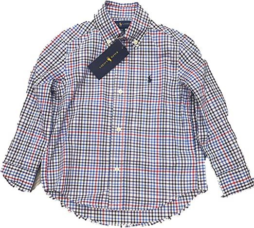 Polo Ralph Lauren - Camisa Cuadros NIÑO: Amazon.es: Ropa