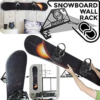 Soporte de Pared para Snowboard (100% Acero)