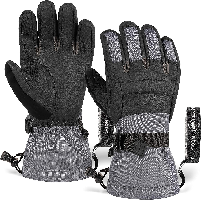 Touch Deluxe Screen Ski Wholesale Snow Gloves Snowboard Waterproof Glo Winter -