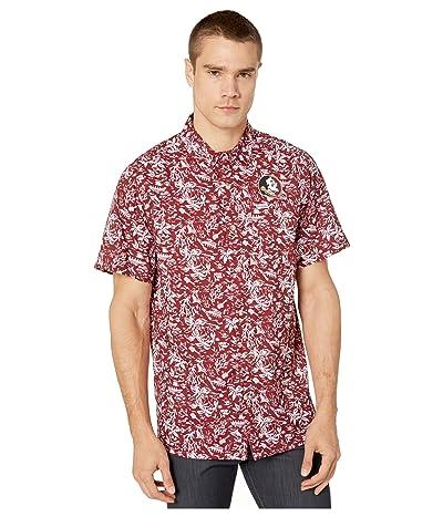 Columbia College Florida State Seminoles CLG Super Slack Tide Shirt (Cabernet) Men
