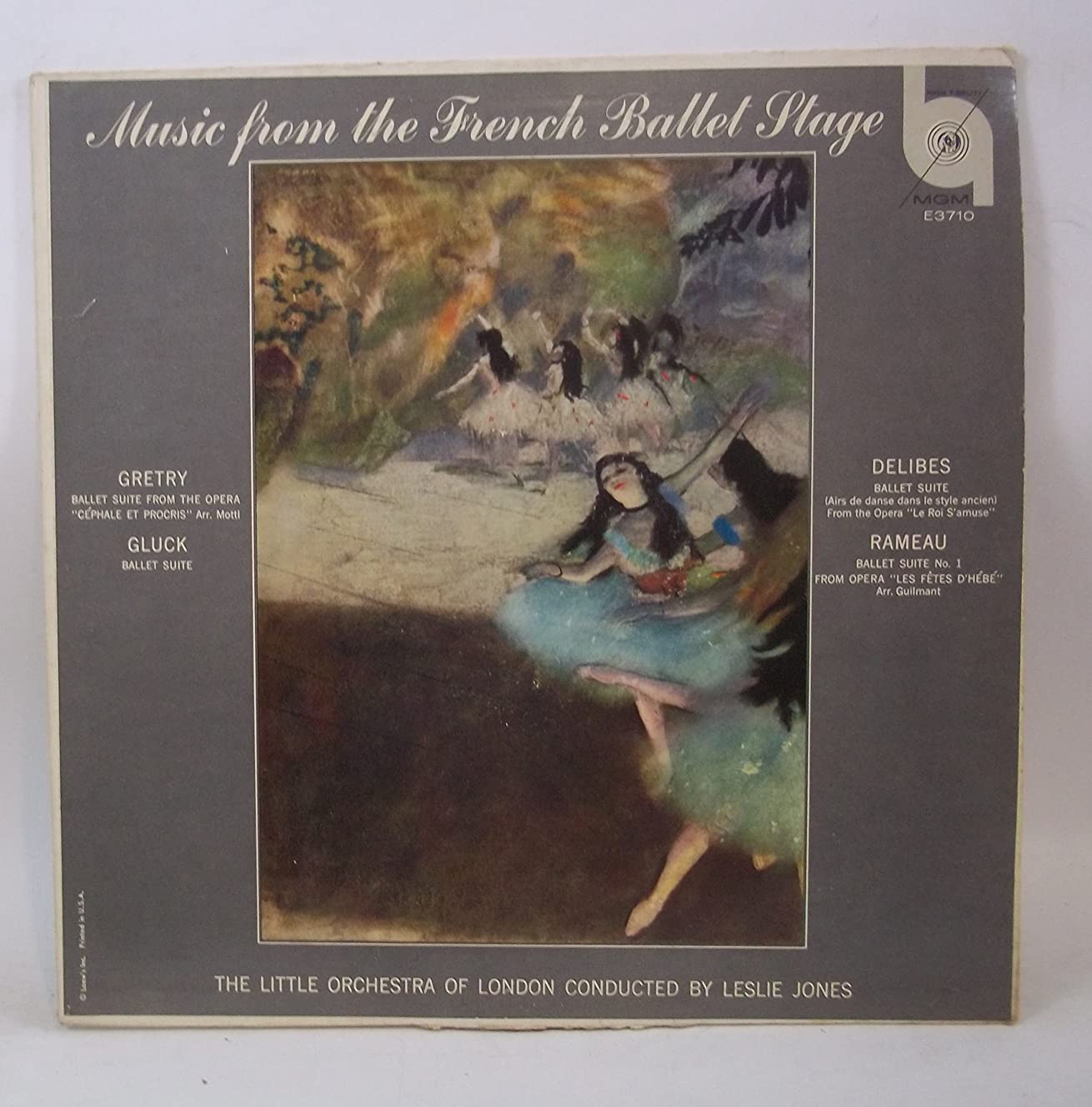 Music from the French Ballet Stage