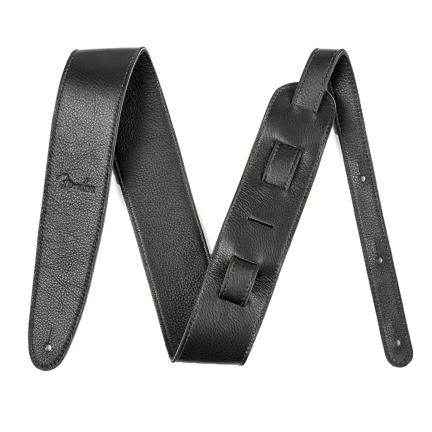 小切手ふざけた適合Fender ストラップ Artisan Crafted Leather Strap, 2.5