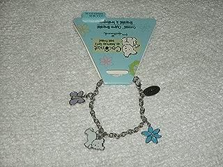 Retired Hallmark Coconut the Dog, an American Girl's Best Friend, Imagine, Dream, Believe, Charm Bracelet