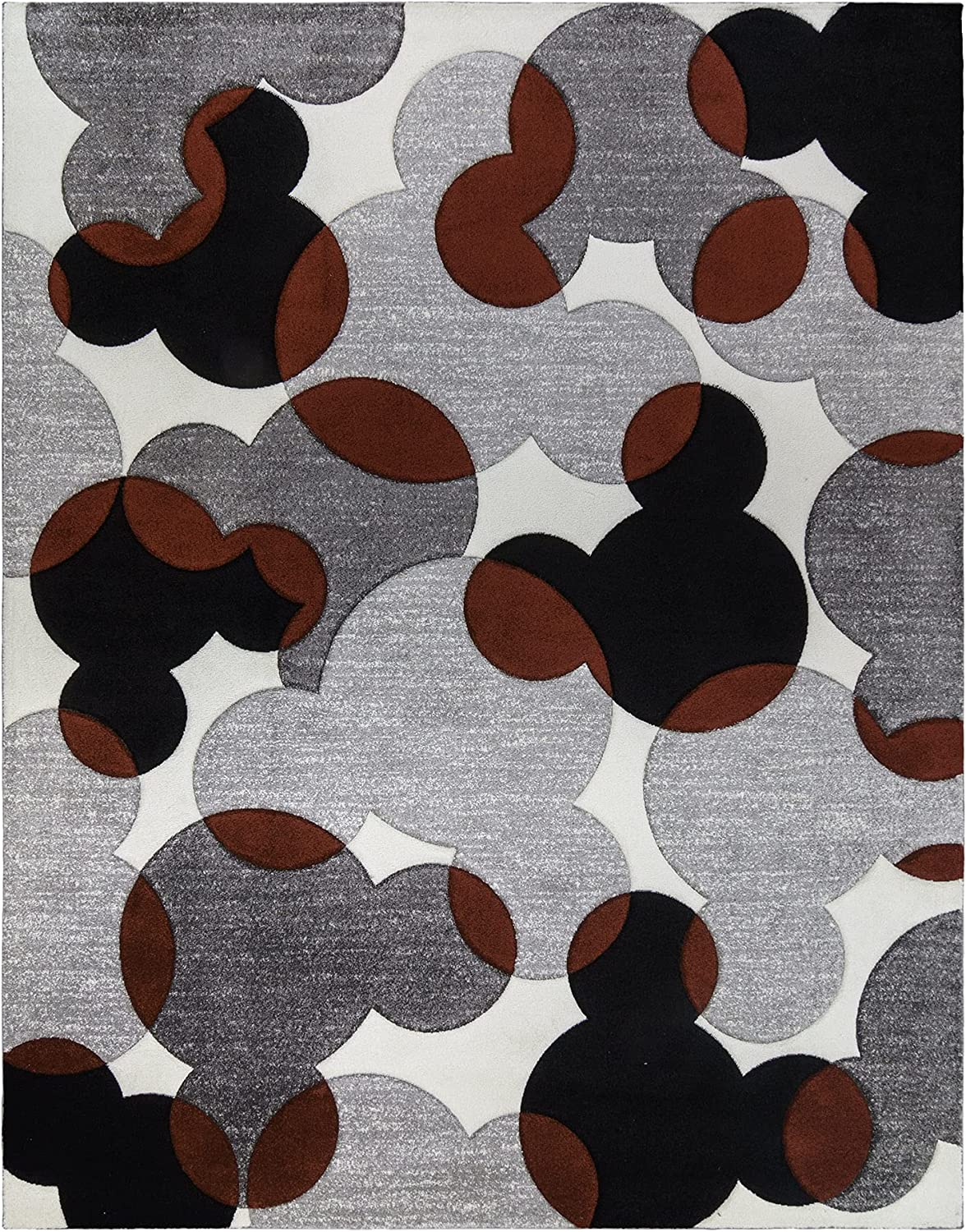 Gertmenian 46627 Disney Mickey free shipping Mouse Rug Are Mat Decor Room Kids High quality