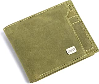 HAMMONDS FLYCATCHER Leather Men's Wallet (HF577_Green)