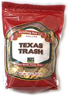 NUTS Family Owned Trail Mix NEW LOOK! RESEALABLE (Texas Trash, 12oz)