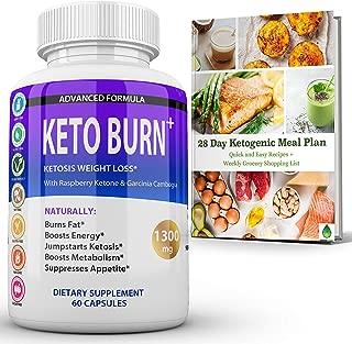 Keto Burn Ketosis Weight Loss 1300 MG GreenXtract