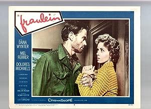 MOVIE POSTER: Fraulein-Dana Wynter-Mel Ferrer-Dolores Michaels-11x14-Color-Lobby Card