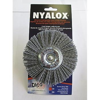 320# 400# 600# Abrasive Nylon Wheel Brush Woodwork Polish Grinder 3Pcs Mtsooning Buildamznuk0064