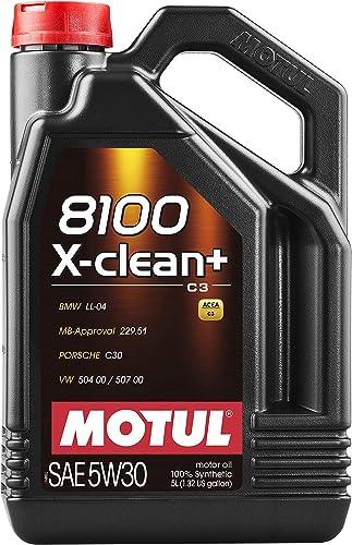 Moteur Huile de graissage 8100 X-Clean+ 5W30 5L