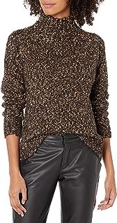 kensie Women's Twisted Boucle Sweater