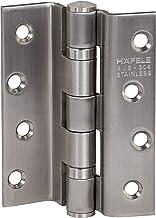 Gedotec schroefscharnier RVS deurscharnier voor sponningen in binnendeuren   zwaar uitgevoerde deurscharnier kogelgelagerd...