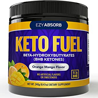 EzyAbsorb Keto BHB Ketones Salts - Exogenous Keto Complex - The Perfect Keto Snack and Keto Drink Formulated for Keto Base, Keto Diet, Keto Meal, Instant Ketones