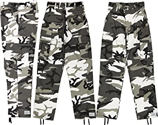 Army Universe Mens Urban City Camo Black   White Camo Metro Urban Cargo  Pants Military BDU 1961619830a