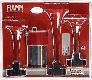 FIAMM 921983 Trumpet Triple Air Horns, Red