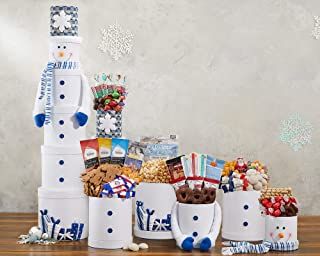 Ultimate Snowman Godiva Chocolate and Sweets Grand Party Gift Tower
