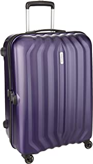 Aristocrat Aston Polycarbonate 55 cms Purple Hard Sided Carry-On (ASTON55TMDP)