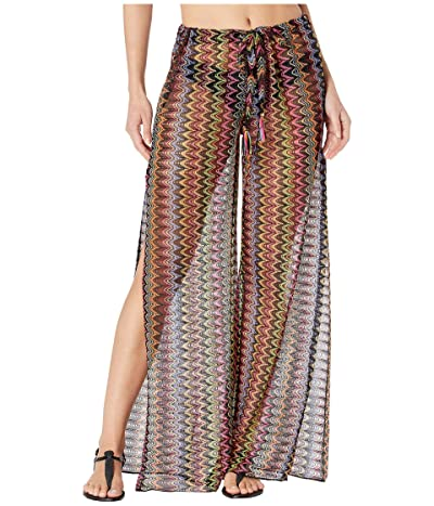 BECCA by Rebecca Virtue Carnavale Multicolor Crochet Pants Cover-Up (Multi) Women