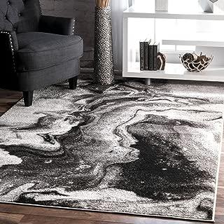 nuLOOM Abstract Area Rug, 7' 6