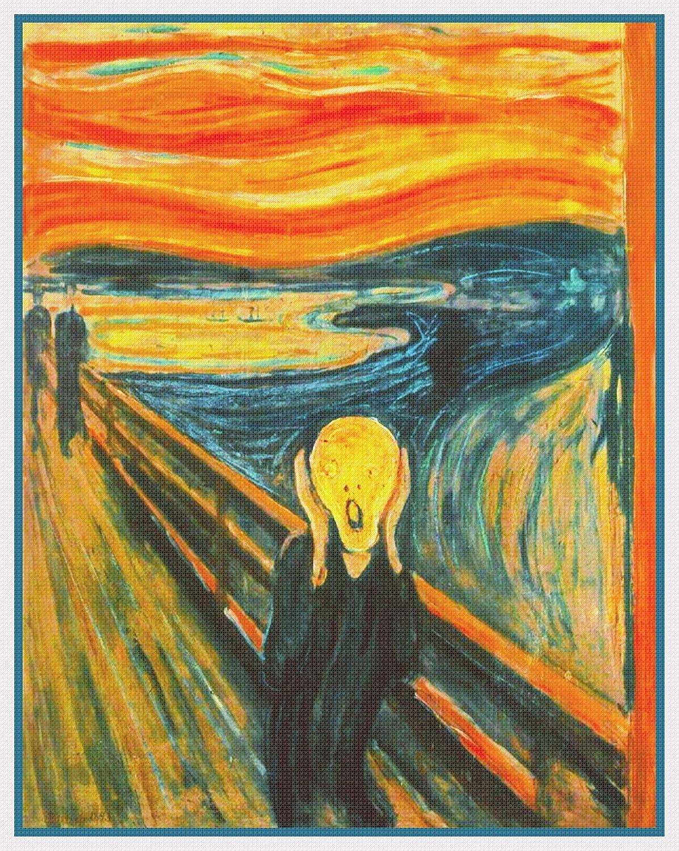 Orenco Originals Symbolist Artist Edvard Omaha Mall Coun Scream The Munch's New color