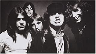 Stick It On Your Wall ACDC - Black & White Mini Poster - 26x38cm