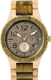 Kardo Army Beige Wood Watch | Army/Beige