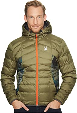 Geared Hoodie Synthetic Down Jacket