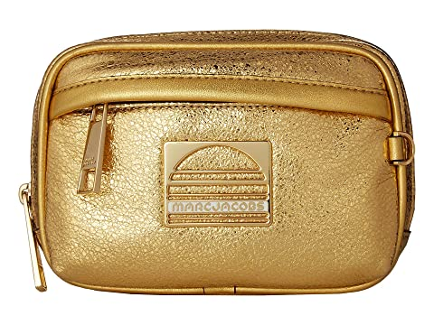 Marc Jacobs Sport Leather Metallic Belt Bag