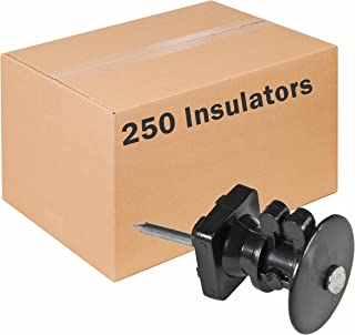 RED SNAP'R IWKNB-Z Insulator with Double-Headed Nails, 250 Pack