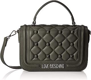 Love Moschino Borsa Matt Nappa Pu, Tracolla Donna, 17x6x27 cm (W x H x L)