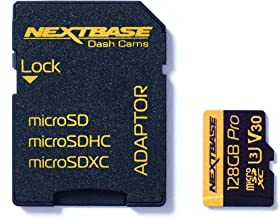 Nextbase 128GB U3 Micro SD Memory Card - With Adapter - Compatible with Nextbase In-Car Dash Cams Series 1 and 2